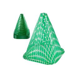 ONVAYA Pflanzenschutzdach Pflanzenhut-Set, Grün, Dots, Pflanzenschutz vor Witterung & Tieren, Pflanzglocke aus PVC, Pflanzenschutzhaube
