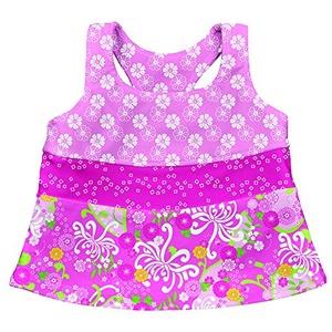 LÄSSIG Baby Badeanzug/Tankini UV-Schutz 50+, Light Pink Mum Garden S