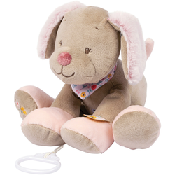 Nattou Spieluhr Lali der Hund rosa Kinder Spieluhren Baby Kleinkind