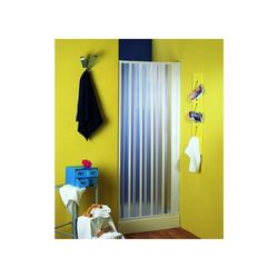 Nischenfalttür, Nischendusche, Duschfalttür, Nürnberg, PVC transparent, 80-100x 185 cm, weiss
