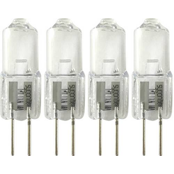 Sygonix Halogen EEK: C (A++ - E) G4 32mm 12V 5W Warm-Weiß 1 Set