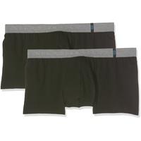 Schiesser Boxershorts (2 Stück) ohne Eingriff schwarz 6