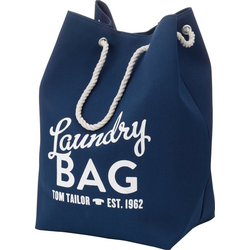 TOM TAILOR Wäschesack LAUNDRY BAG blau