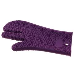 KOCHBLUME Handschuh LILA aus Silikon Topflappen