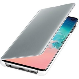 Samsung Clear View Cover EF-ZG973 für Galaxy S10 weiß