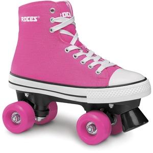 Roces Kinder Chuck Classic Roller Rollerskates/Rollschuhe Street, deep pink, 38