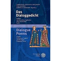 Das Dialoggedicht /Dialogue Poems - Buch