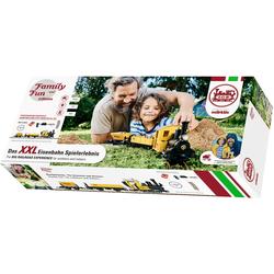 LGB Modelleisenbahn-Set - Family and Fun Baustellenzug 230 Volt L70503, für Einsteiger, Made in Europe gelb Kinder Modelleisenbahn-Sets Modelleisenbahnen Autos, Eisenbahn Modellbau
