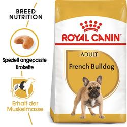 ROYAL CANIN French Bulldog Adult Hundefutter trocken für Französische Bulldoggen 18 kg (2 x 9 kg)
