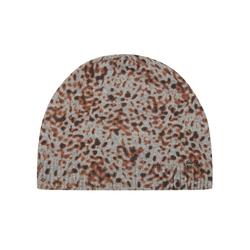 Premium Leo-Mütze mit Wolle und Kaschmir Codello grey