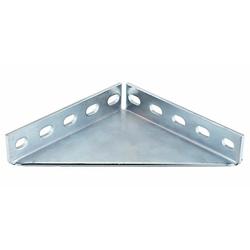 Winkelkonsole - Stahl verzinkt - 200 x 200 x 4 mm