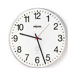 Wanduhr arab.Zahlen 25cm Funkuhr 230V 52.270.211