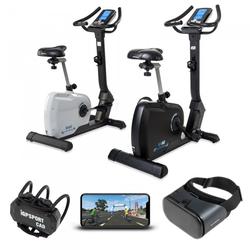 cardiostrong Ergometer BX60 mit Holofit VR Fitness-App und Headset BX60 schwarz