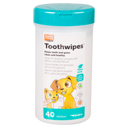 Karlie Petkin Zahnbelag Tücher für Hunde