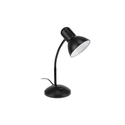 relaxdays Tischleuchte Schreibtischlampe schwenkbar