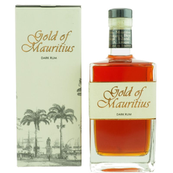 Gold of Mauritius Dark Rum 0,7L (40% Vol.)
