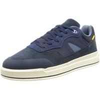 CAMEL ACTIVE Veloursleder/Textil Sneaker blau 44