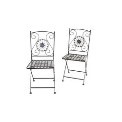 moebel-direkt-online Gartenstuhl Dolo 2er-Set (2Stühle)