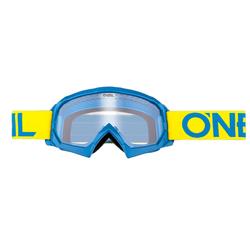 O´Neal B-10 Solid Jugend Brille, blau-gelb