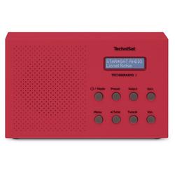TechniSat TechniRadio 3 Heimradio rot Digitalradio DAB+ Radio Radio (UKW, DAB, DAB+, RDS)