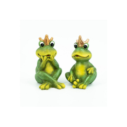 HTI-Living Gartenfigur Keramikfiguren, 2er Set Froschkönig, (2 St)