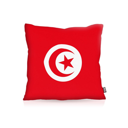 Kissenbezug, VOID, Tunesien Flagge Fahne Fan Fussball EM WM Tunis 80 cm x 80 cm