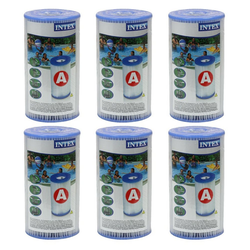 Intex Pool-Filterkartusche 29000 Filterkartusche Typ A 6er Paket