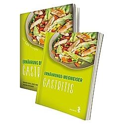 Ernährung bei Gastritis / Ernährungs-Wegweiser Gastritis, 2 Bde.