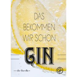 Gin Postkarte No.3