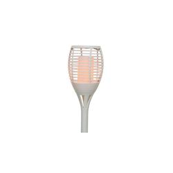 Kaemingk LED-Solarfackel in weiß, Länge ca. 62,5 cm