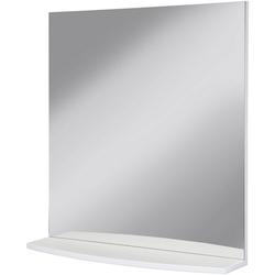 Badspiegel Flow, Breite 65 cm weiß 65 cm