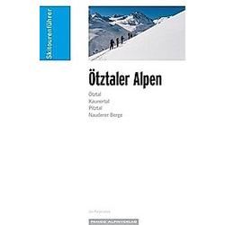 Skitourenführer Ötztaler Alpen. Jan Piepenstock  - Buch
