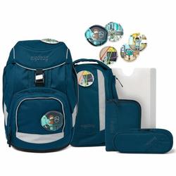 Ergobag Pack Schulranzen-Set 6tlg. inkl. Klettie-Set robotbär