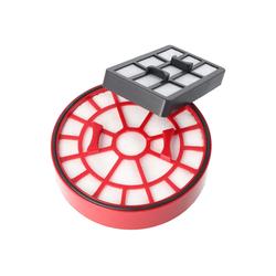 AccuCell Staubsaugerrohr Filterset Dual-Motorschutz- und Ausblasfilter für