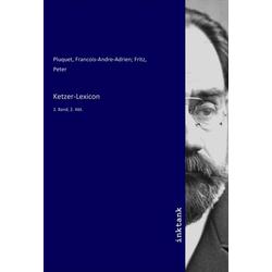 Ketzer-Lexicon als Buch von