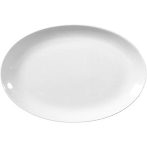 Seltmann Weiden Servierplatte Rondo Liane in weiß, 28 cm