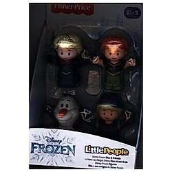 Fisher-Price Little People Frozen 4er-Pack Figuren