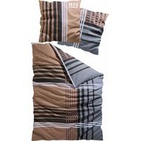 Linon braun (135x200+80x80cm)