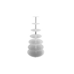 Schneider Etagen-Tortenständer 7-Etagen silber 146007