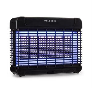 Waldbeck Insektenschutz-Vorhang Mosquito Ex 5500 13W 150m² LEDs Auffangschale Kette schwarz 33 cm x 26 cm