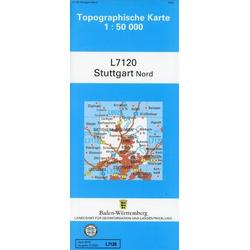 Stuttgart Nord 1 : 50 000