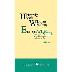 Europa wertvoll - Buch