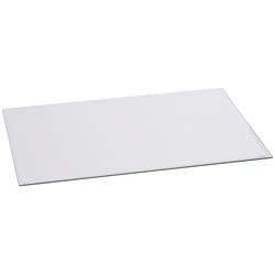 Glasvorlegeplatte rechteckig, 1200 x 550 mm, 87017121-0 farblos 55 cm x 120 cm farblos