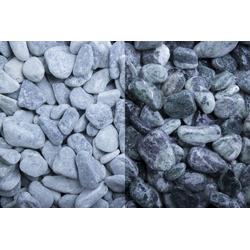 Marmor Kristall Grün getrommelt, 15-25, 500 kg Big Bag
