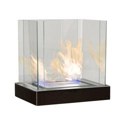 Radius Echtfeuer-Dekokamin Top Flame 3 L schwarz gebürsteter Edelstahl Ethanolkamin von Radius Design - 551 k
