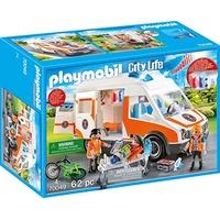 Playmobil City Life Rettungswagen mit Licht und Sound 70049