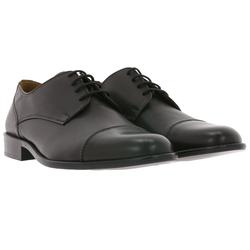 Manz MANZ Schuhe Glattleder-Schuhe stylische Anzug-Schuhe Kay AGO Schnürschuhe Braun Arbeitsschuh 42.5