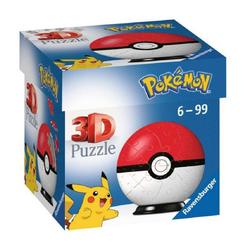 Ravensburger 3D-Puzzle Ravensburger Pokémon 3D Puzzle Pokéball Classic, Puzzleteile