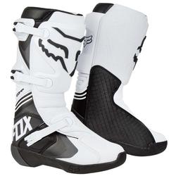 Fox Motocross-Stiefel Comp Weiß