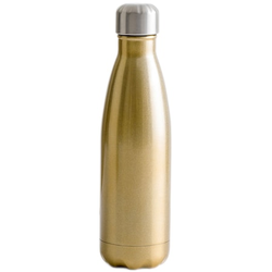 Sagaform Stahlflasche Gold